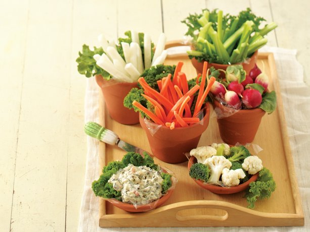 Garden Vegetable Platter