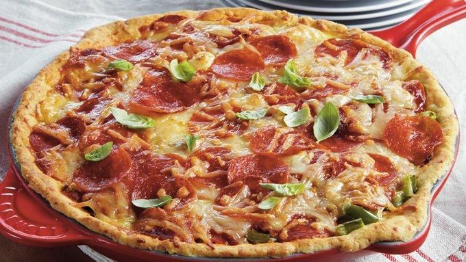 Deep Dish Pizza Pie Recipe Deep Dish Pizza Pie