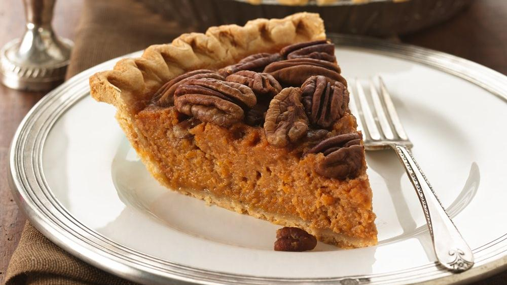 Bourbon-Pecan Sweet Potato Pie recipe from Pillsbury.com