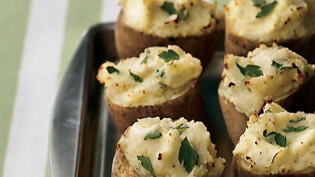 Ricotta-Stuffed Potatoes
