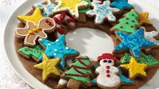 Gingerbread Cookie Wreath Recipe