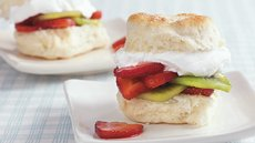 Strawberry Kiwi Shortcakes Recipe
