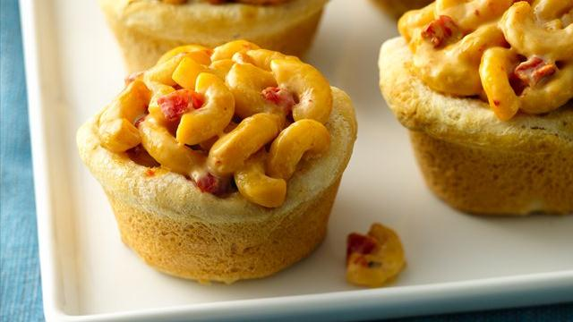 Grands!® Jr. Spicy Mac 'n Cheese Biscuit Pies