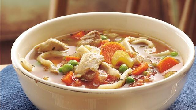 Slow Cooker Grandma's Chicken Noodle Soup