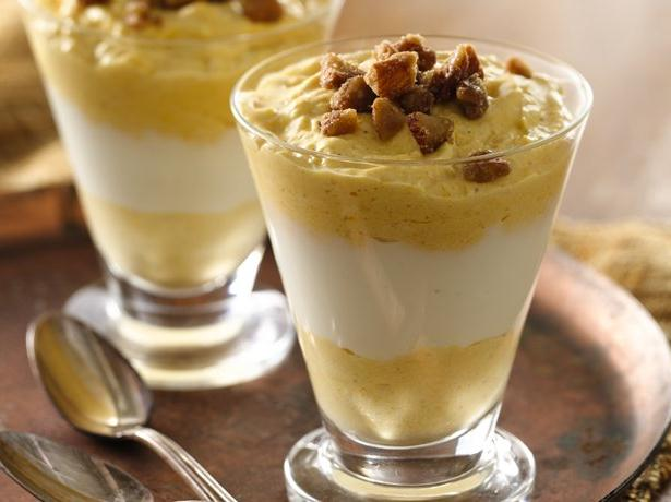 Coconut Pumpkin Parfaits