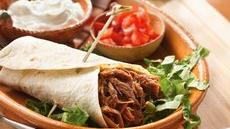 Slow Cooker Southwestern Pork Burritos Recipe