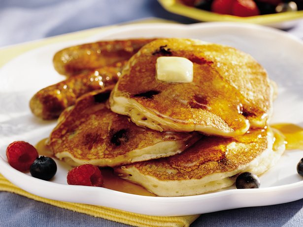 Bumbleberry Pancakes