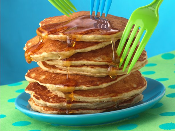 Image of Apple-cinnamon Pancakes, Betty Crocker
