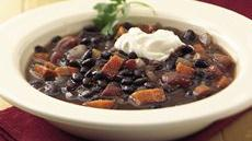 Slow Cooker Zesty Black Bean Soup Recipe