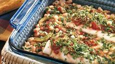 Salsa Cod with White Beans Recipe