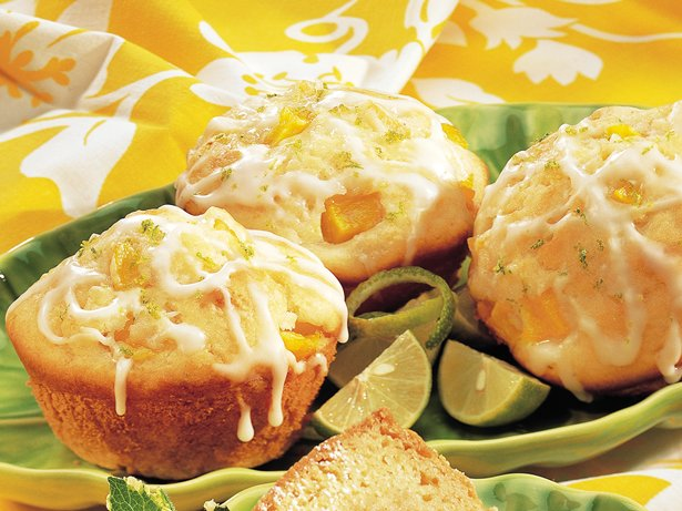 Citrus-Mango Muffins