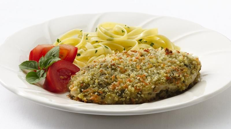Pesto Parmesan Chicken