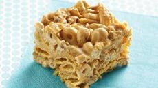Peanut Butter-Cereal Bars Recipe