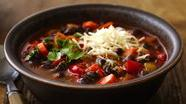 Gluten Free Black Bean Chili with Cilantro