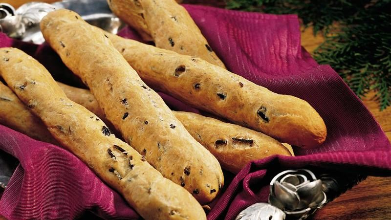 Wild Rice Breadsticks