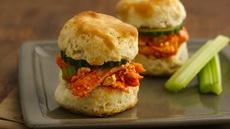 Buffalo Chicken Biscuit Sliders Recipe