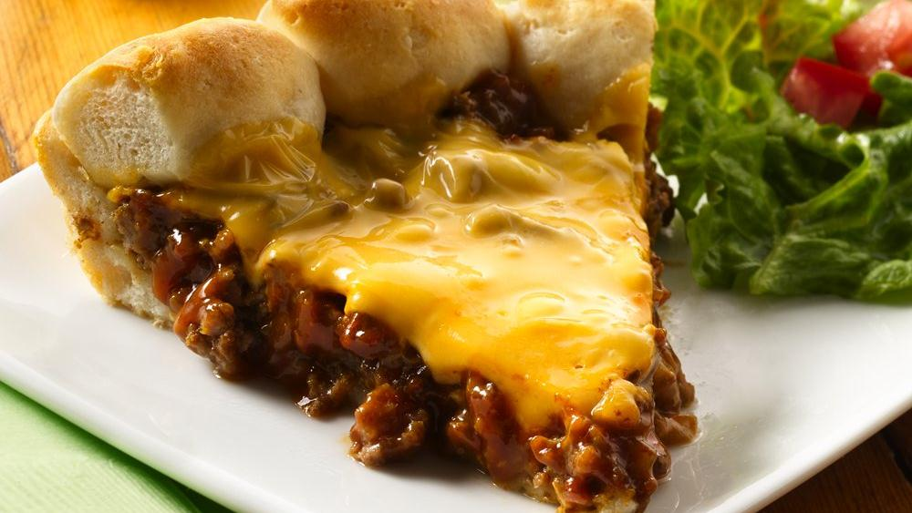 Cheeseburger Biscuit Pie recipe from Pillsbury.com
