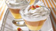 Creamy Candy Corn Puddings Recipe