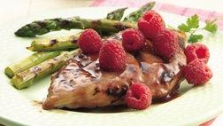Grilled Raspberry Glazed Chicken