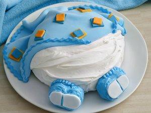 Baby Cake--It's a Boy!
