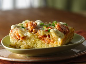 Smoked Salmon Breakfast Bake