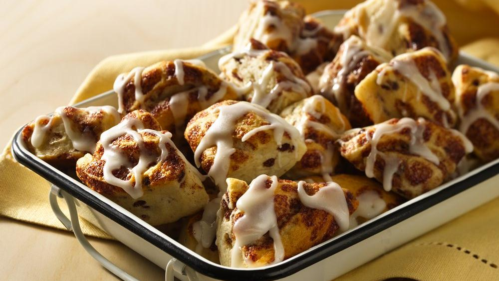 Easiest Ever Cinnamon Roll Bites