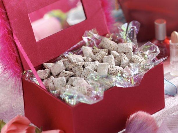 Pink Powder Puff Crunch (Gluten Free)  Recipe from Betty Crocker