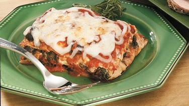 Overnight Mediterranean Lasagna