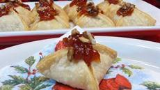 Mango Salsa Cheese Stuffed Pastries Recipe
