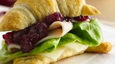 Cranberry-Turkey Sandwiches Recipe