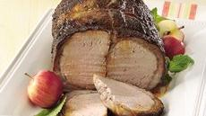 Grilled Seasoned Pork Roast Recipe