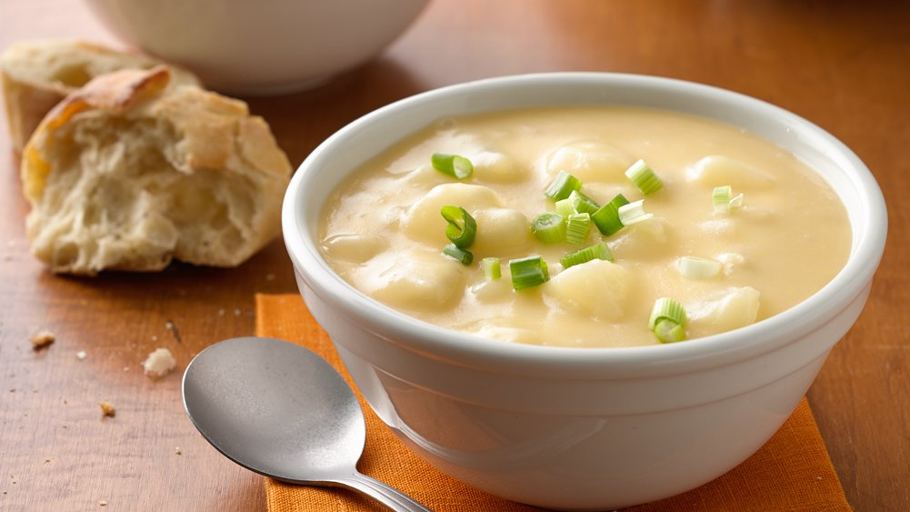 Cheesy Potato Slow-Cooker Soup recipe from Pillsbury.com