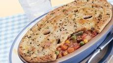 Deep-Dish Ground Beef Pot Pies Recipe