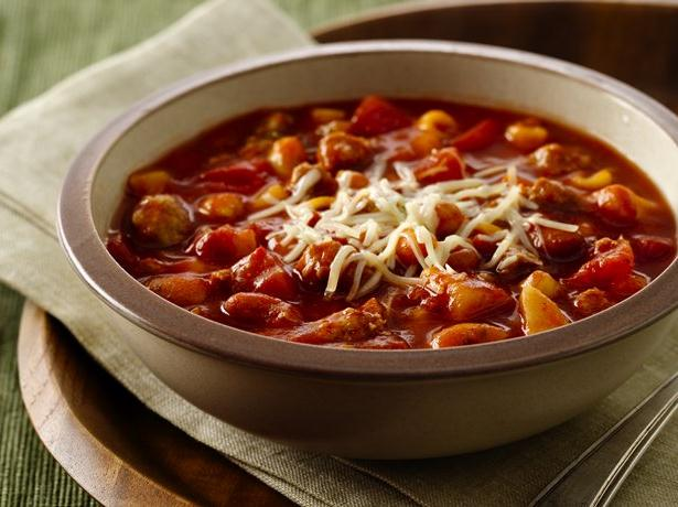 Slow Cooker Minestrone Stew