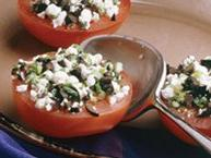 Tomatoes with Feta Cheese