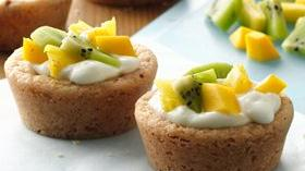 Fruity Cookie Cups Recipe