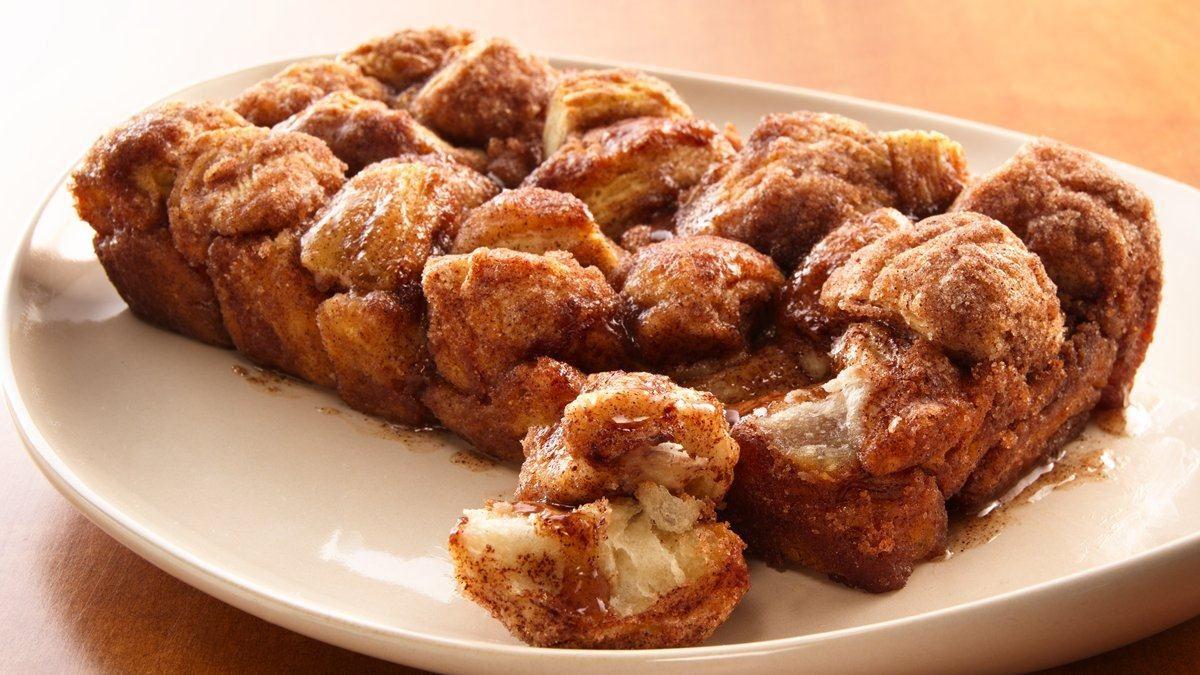 Cinnamon Sugar Pull Apart Loaf - Life Made Delicious