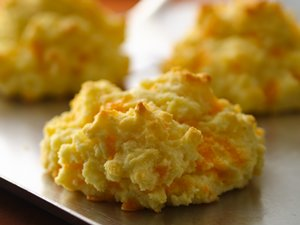 Gluten Free Cheese Garlic Biscuits