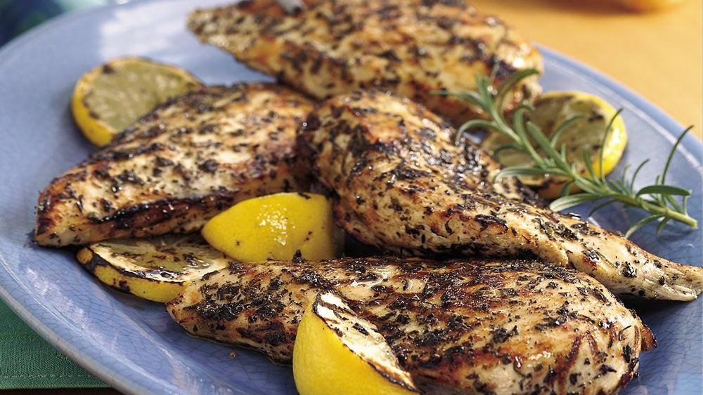 Grilled Provençal Chicken Breasts