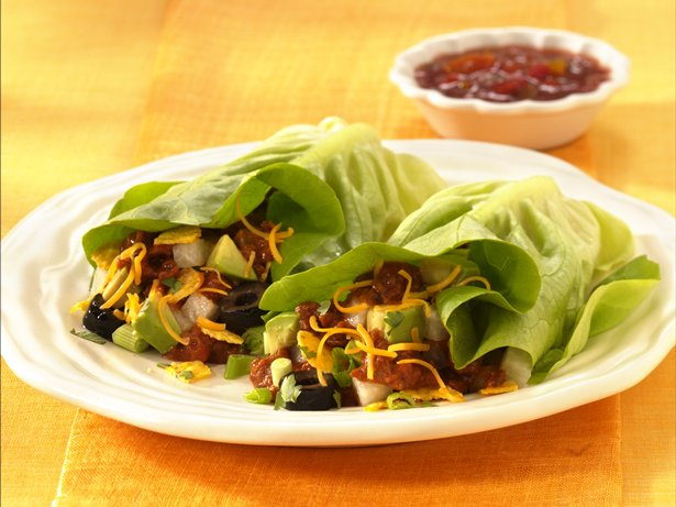 Inside-Out Taco Salad Wraps recipe from Betty Crocker