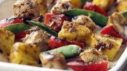 Healthified Apricot Chicken Kabobs