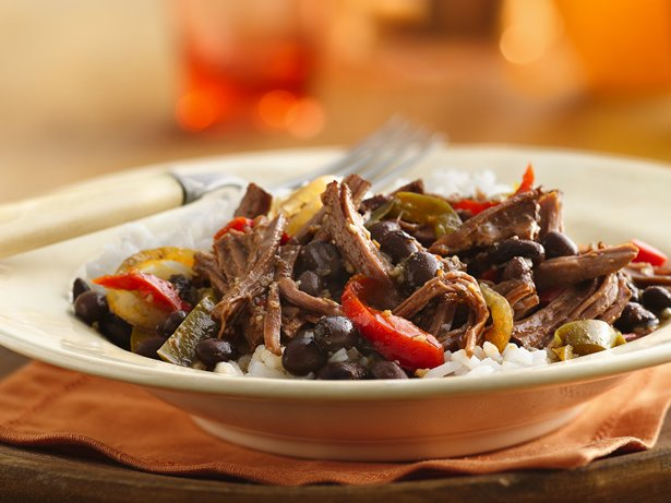 Slow Cooker Cuban Flank Steak