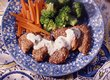 Sesame Pork with Garlic Cream Sauce