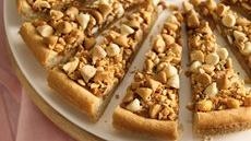 Nutty Caramel Cookie Tart Recipe