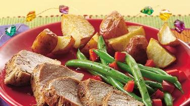Roasted Herb Pork Tenderloins