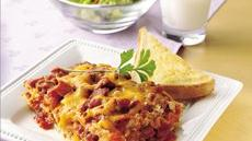 Easy Bacon Cheeseburger Lasagna Recipe