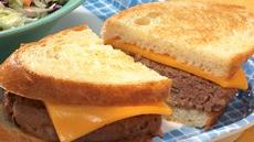 Grilled Cheddar Burgers Recipe
