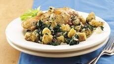 Baked Chicken and Spinach Stuffing Recipe
