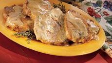 Braised Pork Chops With Cream Gravy Recipe
