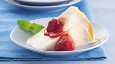 Italian Cream Pie with Strawberry Sauce Recipe